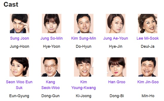 Can We Get Married Casts