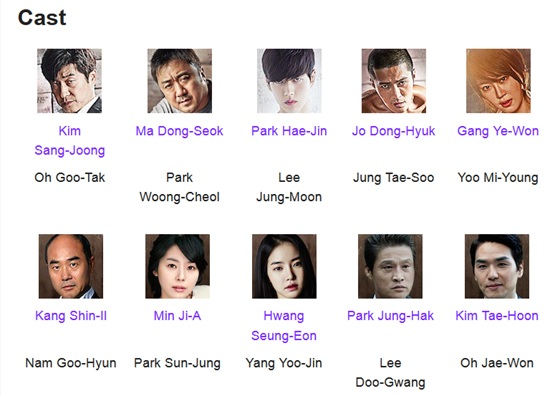 Bad Guys 2014 Casts