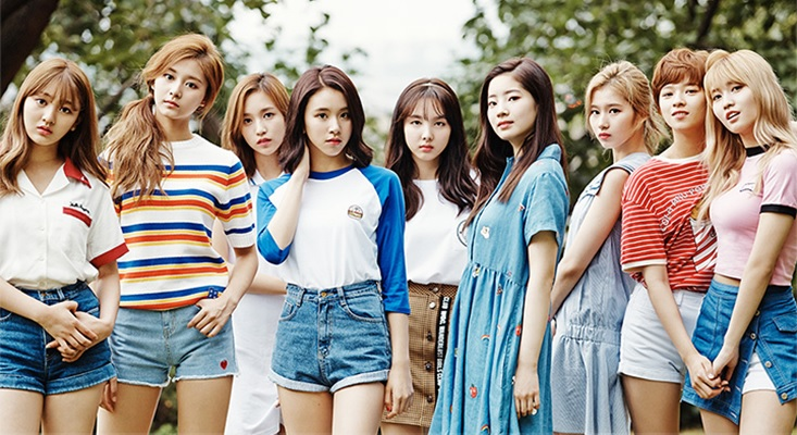 Twice members profile 2017 songs facts etc a popular girl are stopboris Image collections