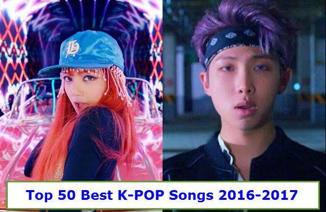 best korean kpop songs 2016-2017