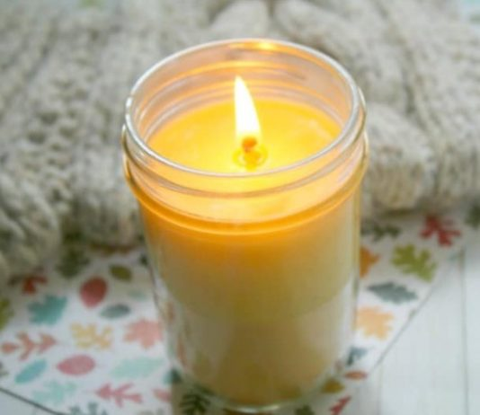 how to clean out a candle jar